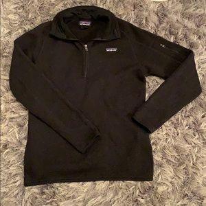 Women's Black Patagonia Jacket MEDIUM